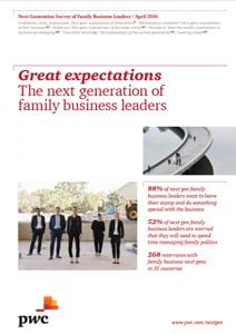 Great expectations - The next generation of family business leaders